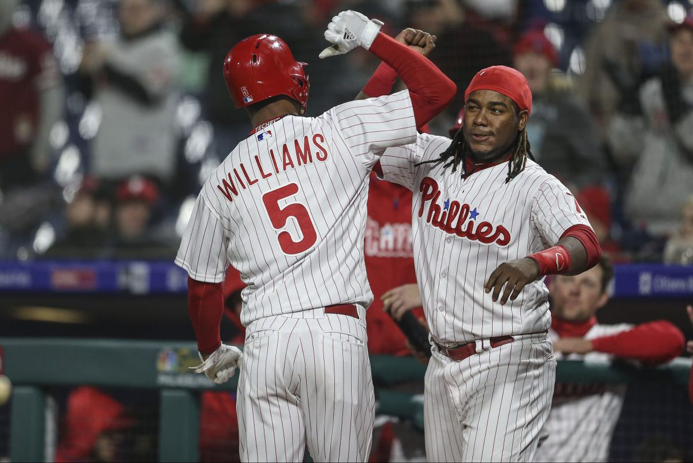 Nick Williams homers to lift Phillies over Reds