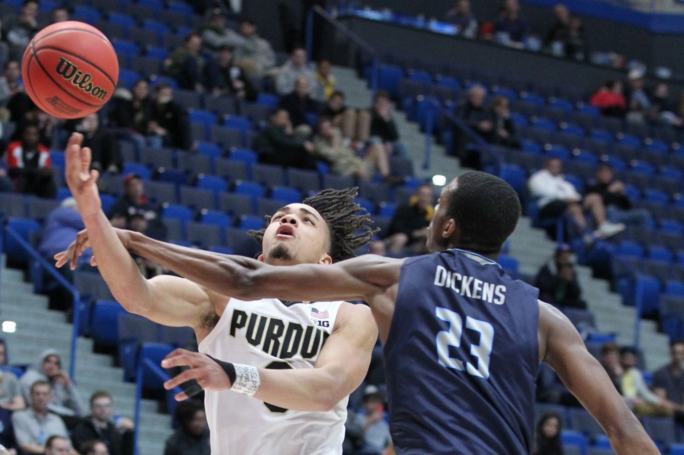 Purdue's Carsen Edwards will try his hand in shooting down Villanova in NCAA Tournament second round | Bob Ford