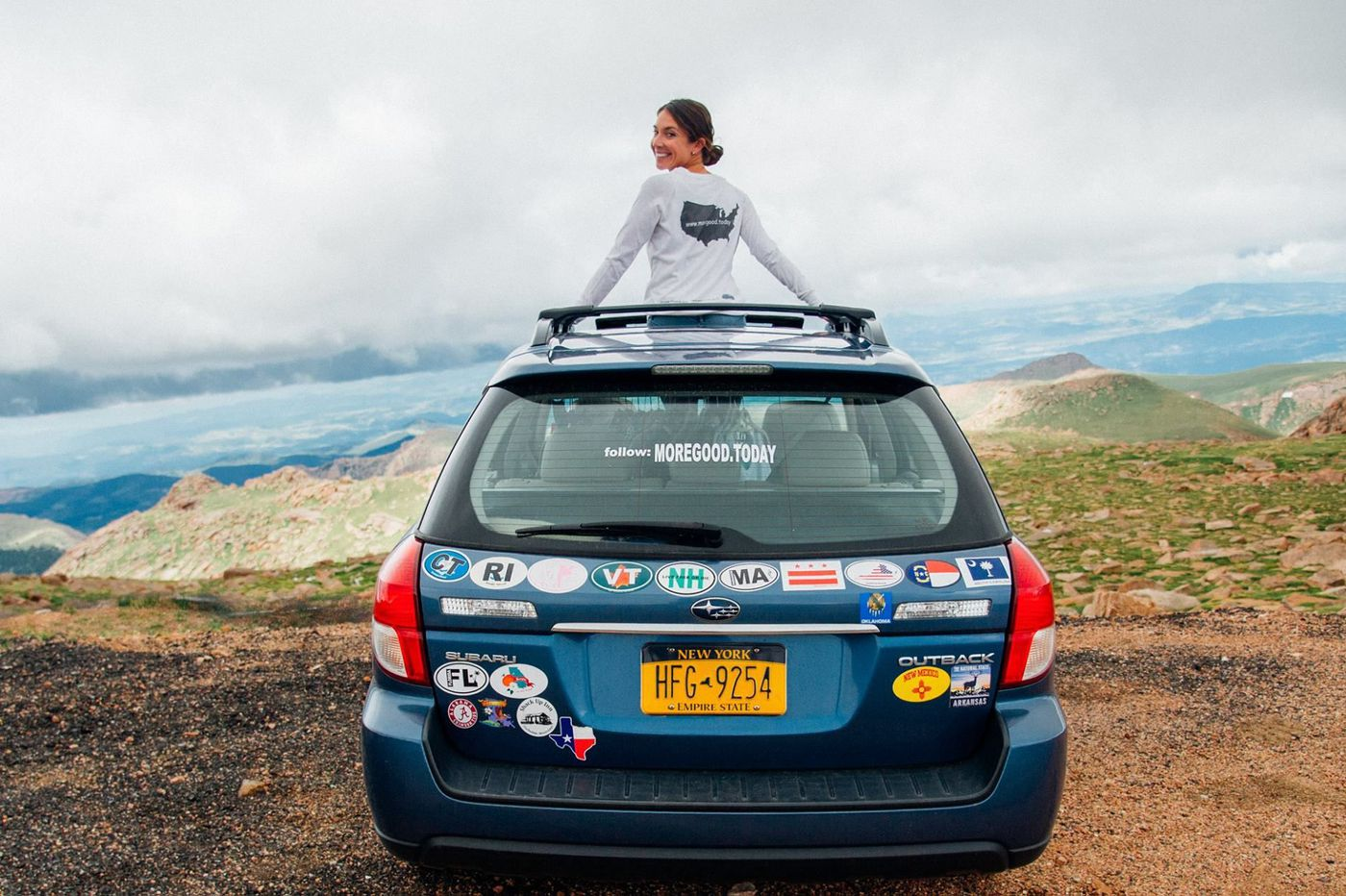 A quest to collect stories of kindness has driven her to 47 states (and counting)