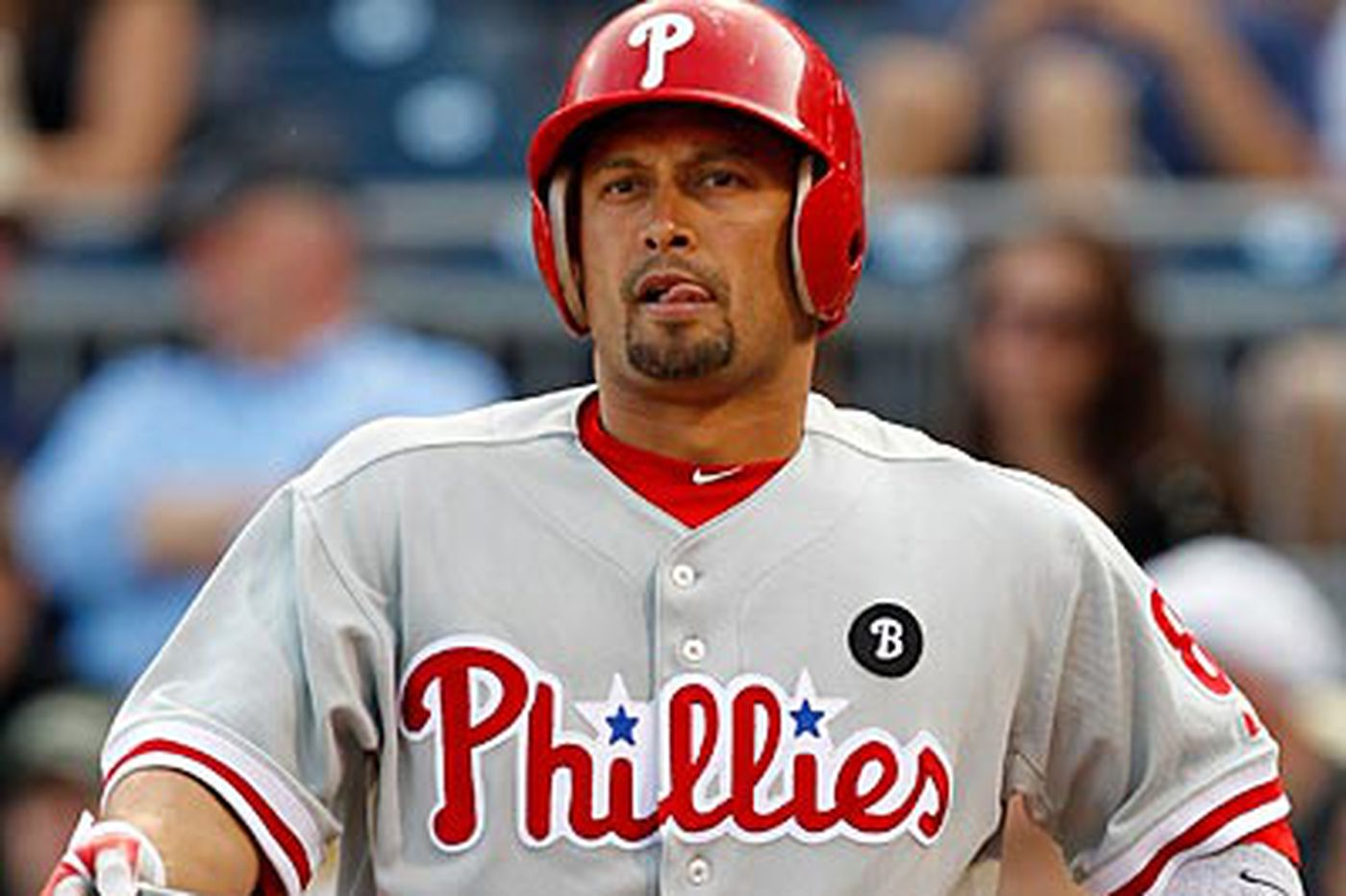 Phillies Notes: Victorino called up, Mayberry sent down