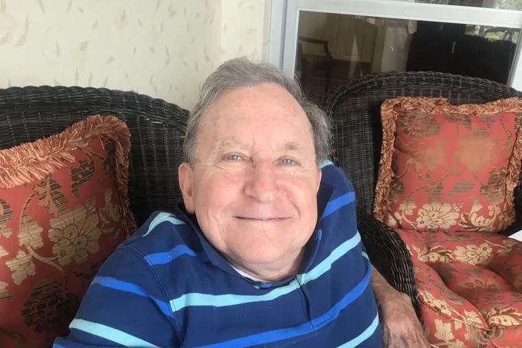 Beloved Philadelphia coxwain and gold medalist John Hartigan, 79, at home in  Blue Bell.