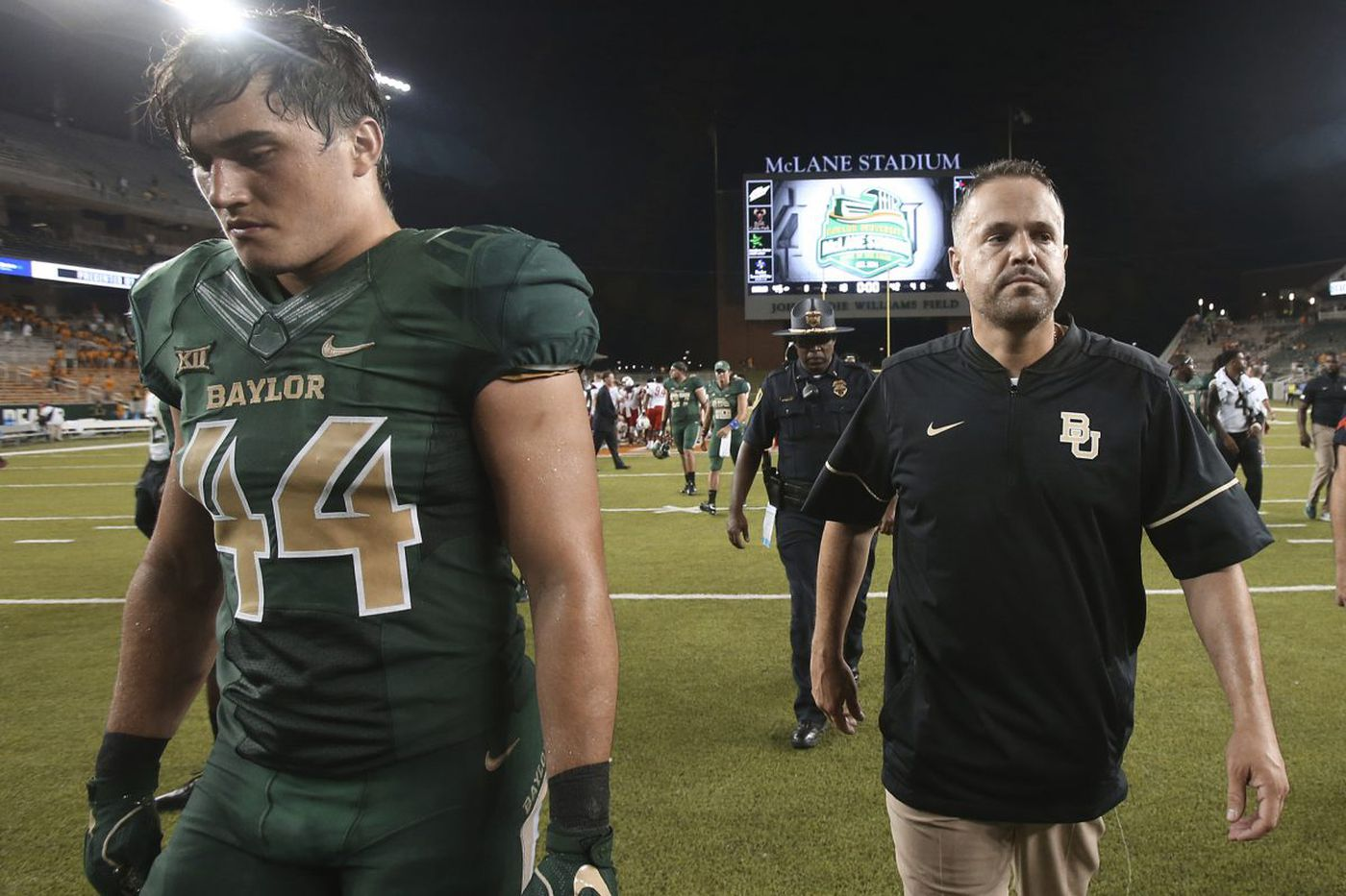 Matt Rhule loses to massive underdog Liberty in Baylor debut
