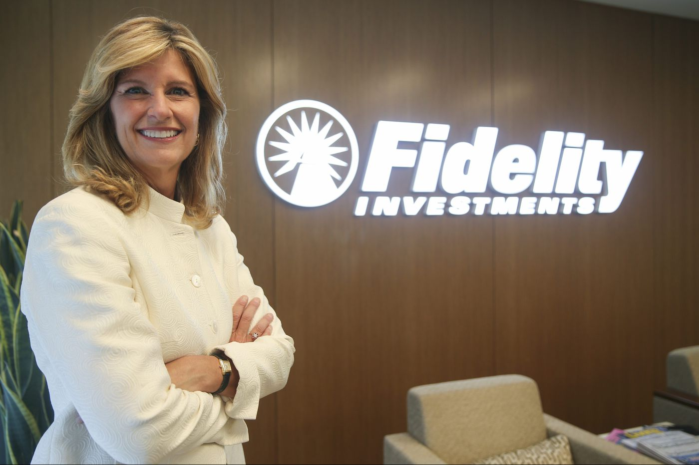 Fidelity president's message to women: Break the intimidation cycle