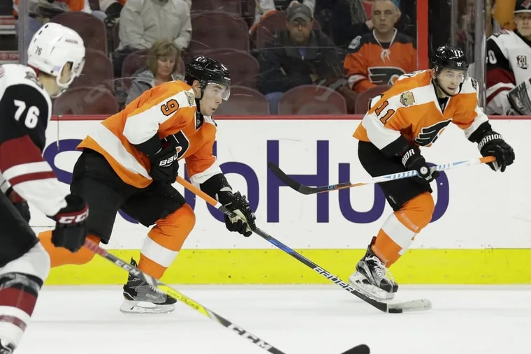 The Flyers' last two restricted free agents, defenseman Ivan Provorov and forward Travis Konecny, are still without new contracts.