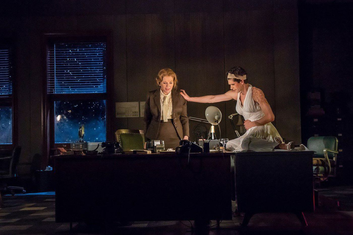 New York stage: 'Norma Jeane,' we never knew you at all -- or what this play's about
