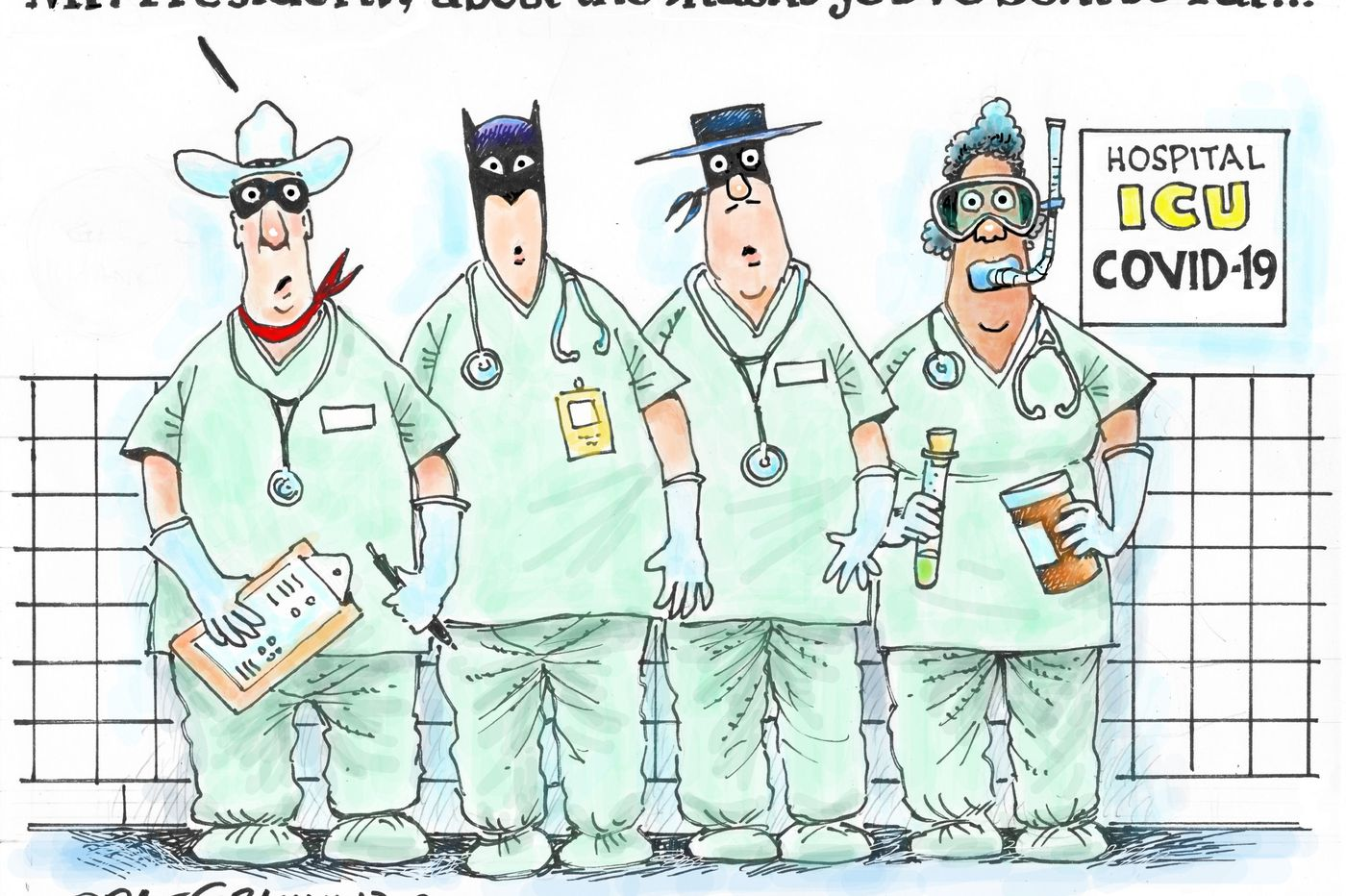 Coronavirus cartoons: 10 artists show how America is adjusting | Opinion