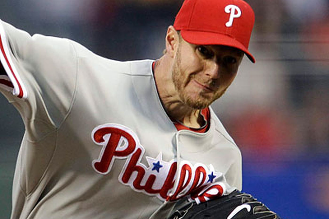 Giants give Halladay first loss