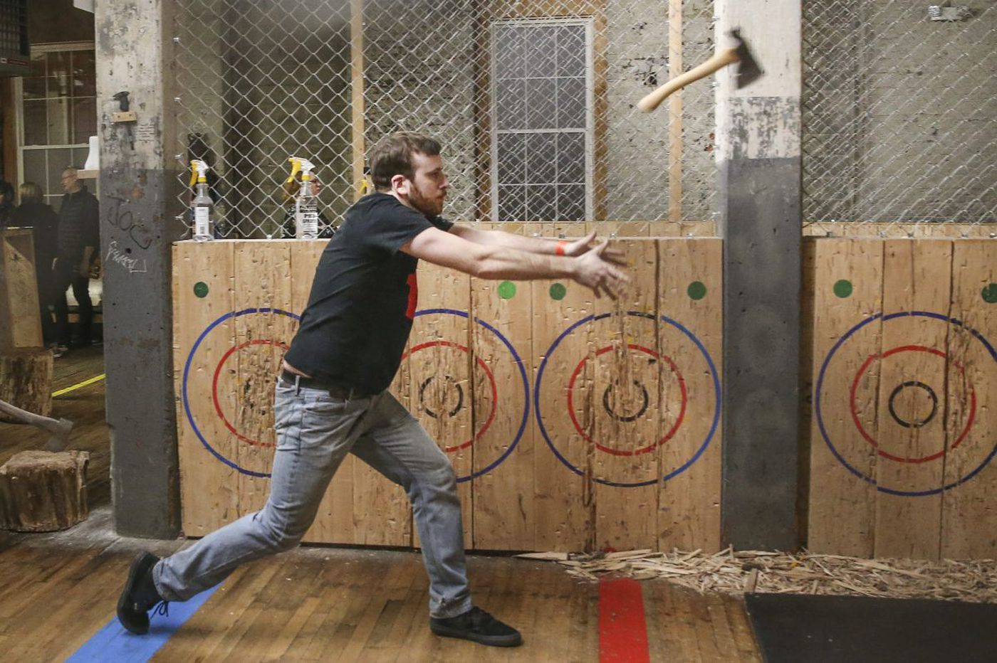 The basics of ax-throwing, according to Philly's best ax throwers
