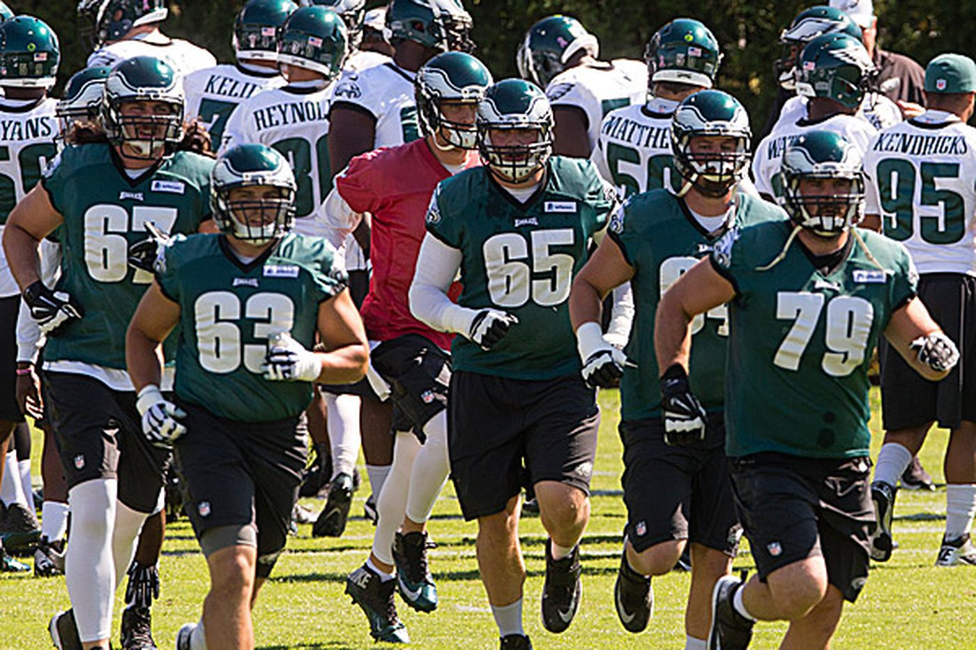 Eagles' season not playing out as expected