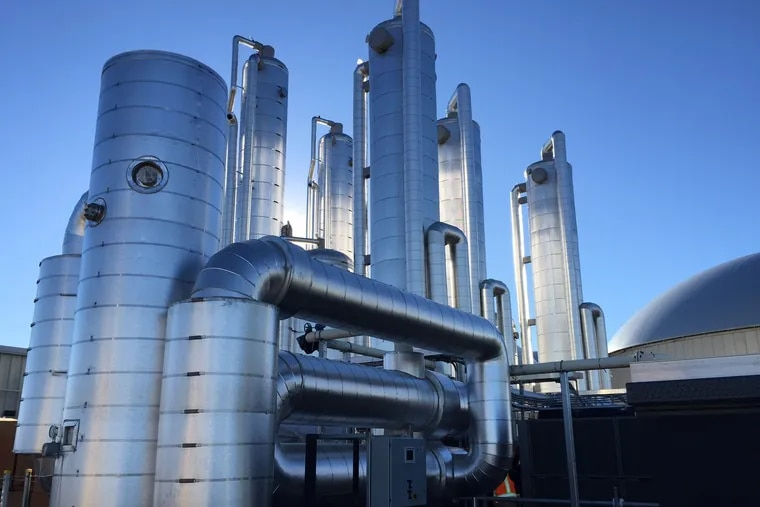 A biofuel facility in Colorado built by RNG Energy Solutions, which signed an agreement in 2018 to build a similar facility in South Philadelphia to convert food waste into transportation fuel. That plan was derailed after its partner, Philadelphia Energy Solutions, declared bankruptcy and shut down its oil refinery.