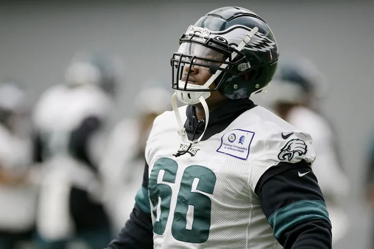 The Eagles signed defensive tackle Akeem Spence on Sept. 10. He figures to be a key contributor Sunday when Detroit visits Lincoln Financial Field.