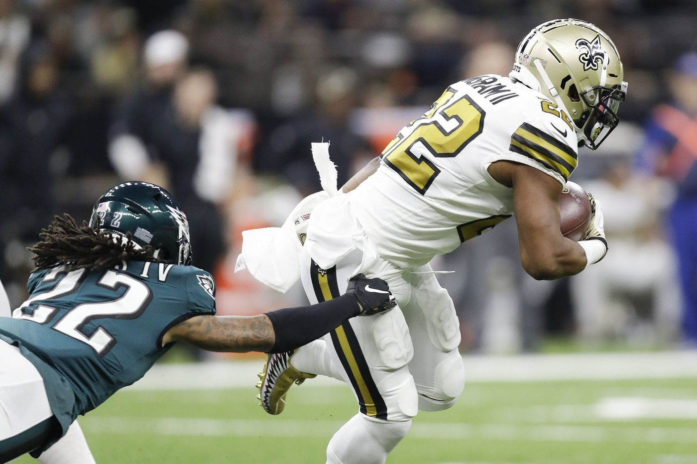 Once again, Eagles can't stop the run — or anything else — in loss to Saints