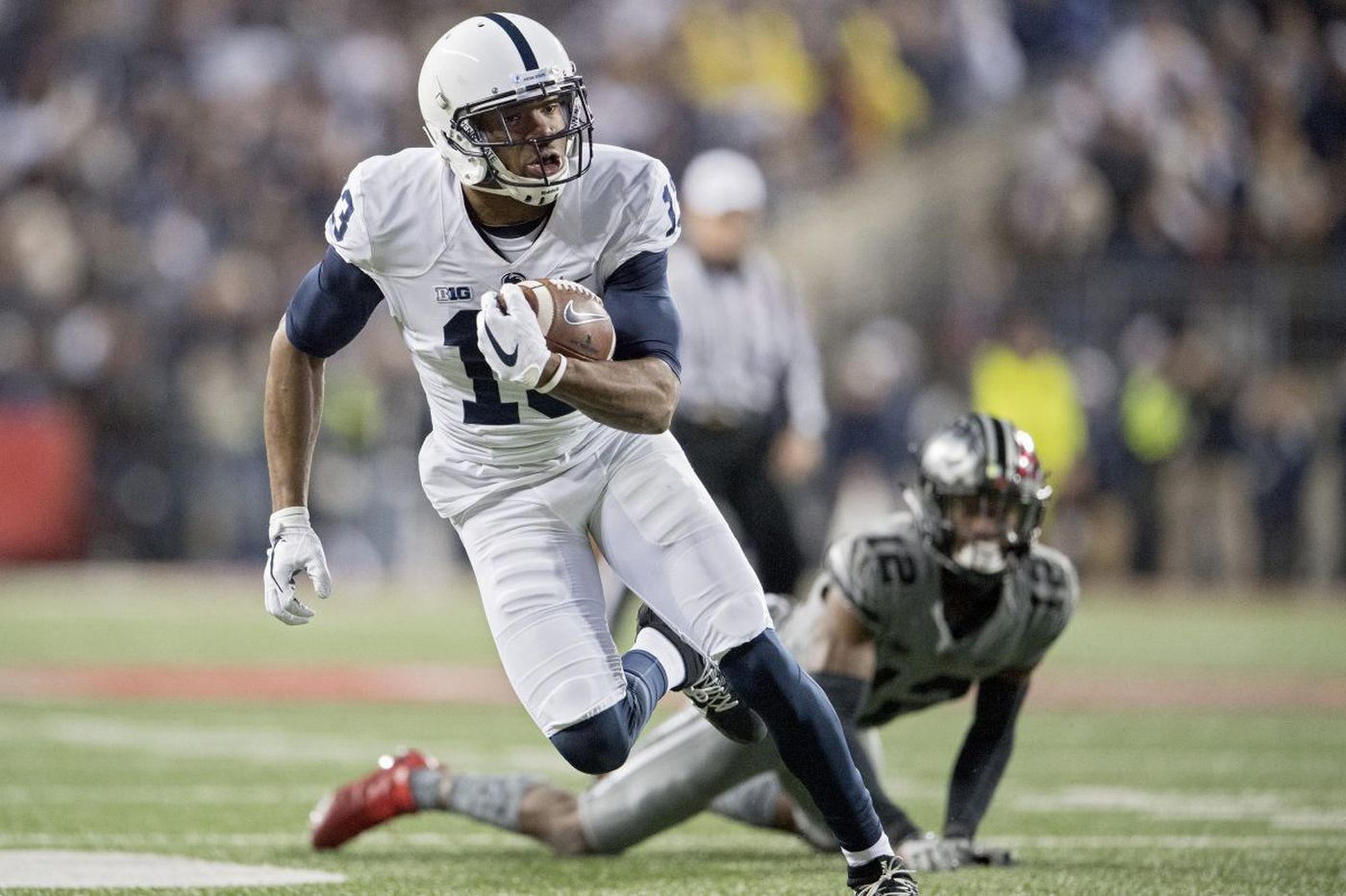 Penn State's Saeed Blacknall recalls his tough decision to withdraw commitment to Rutgers