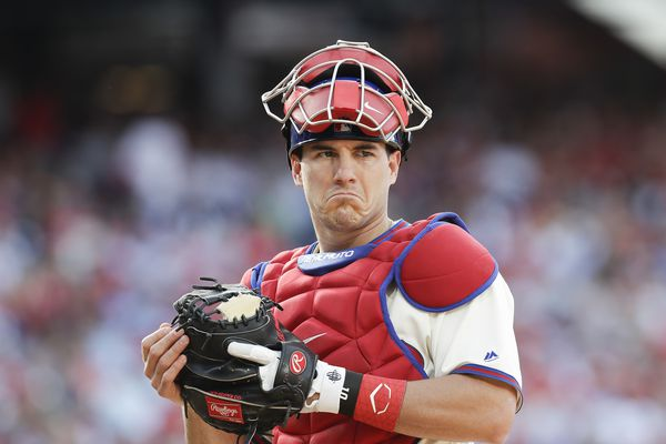 Phillies' J.T. Realmuto, Bryce Harper, Aaron Nola are finalists for Gold Glove awards