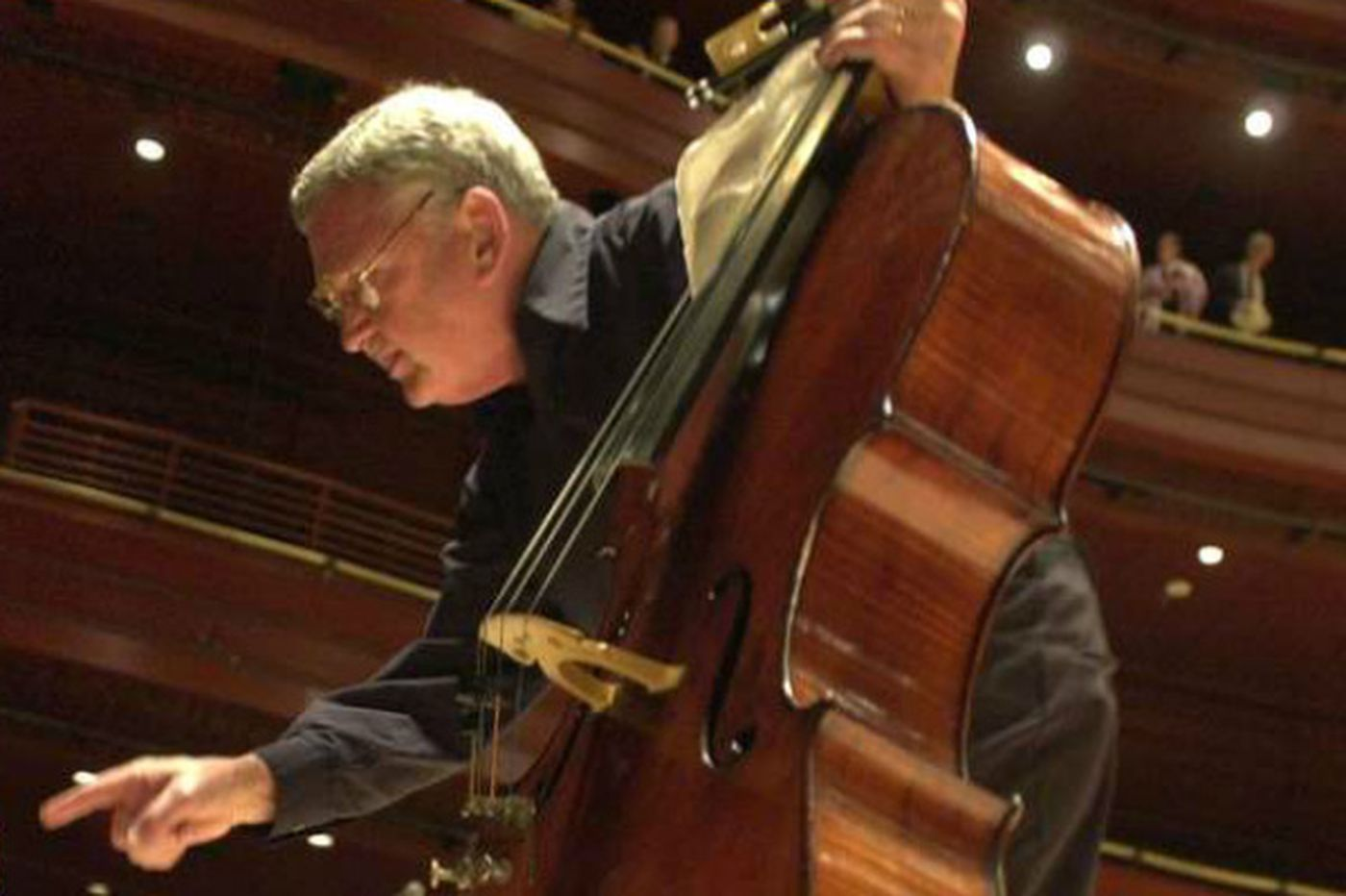 Service set for Phila. Orchestra cellist William Stokking, 81