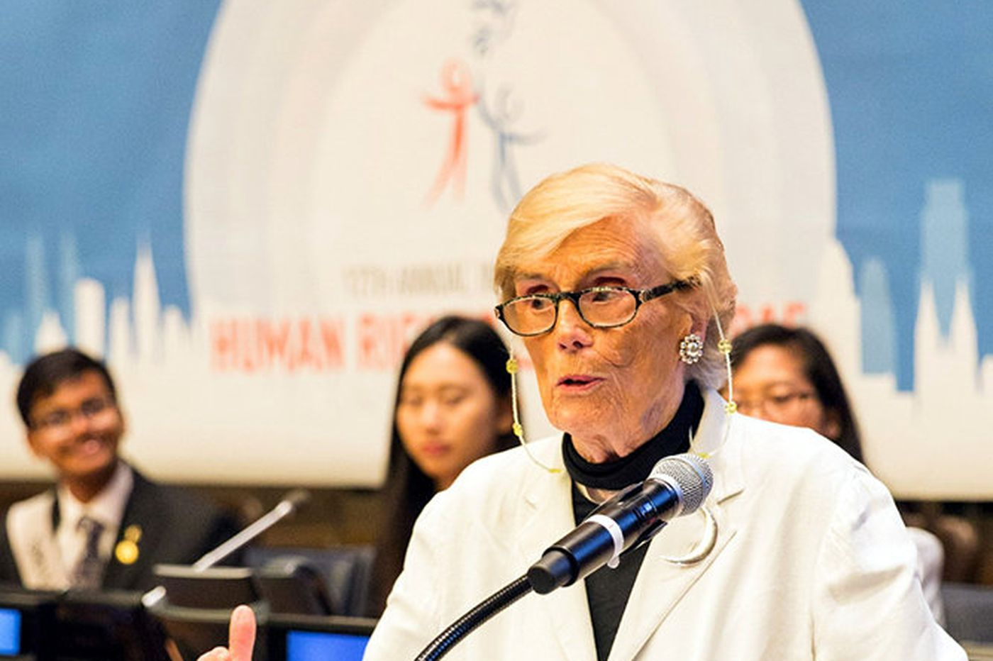 Ella King Russell Torrey, who dedicated her life to peace and human rights, dies at 94
