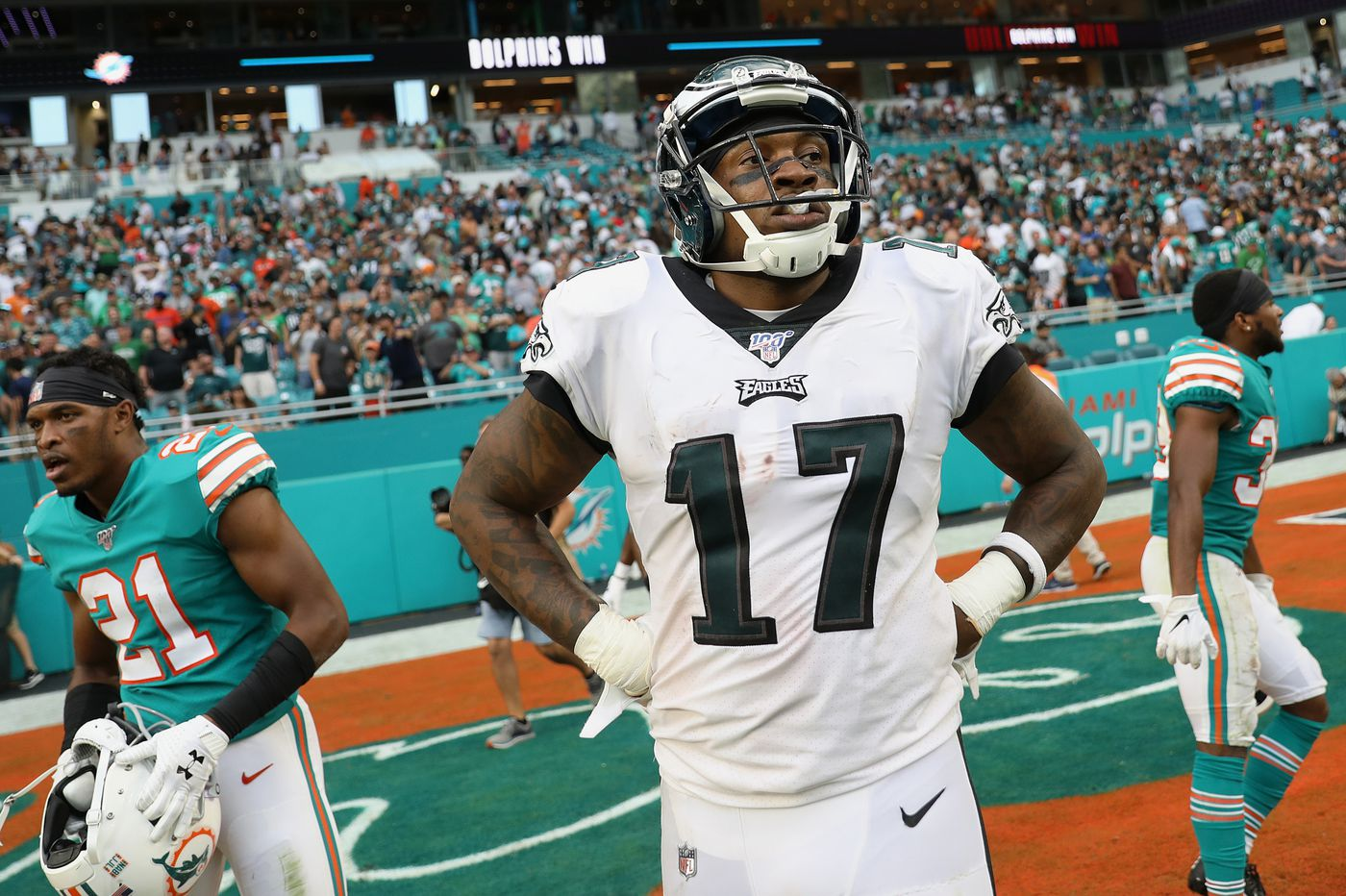 Stunning loss to Dolphins paints stark picture for Eagles' future, both short and long term | David Murphy