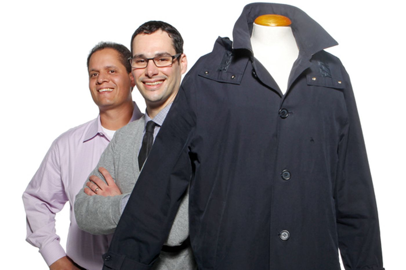 Diane Mastrull: Two entrepreneurs see big future for trench coats