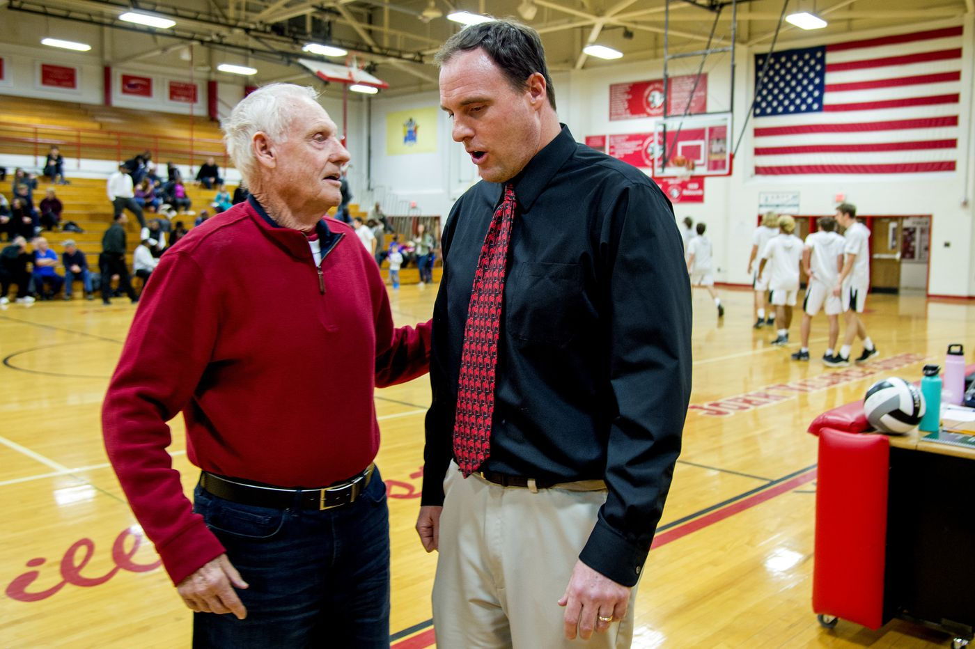 Like father, like son: Winning basketball games is family affair for Wiedemans of Haddonfield
