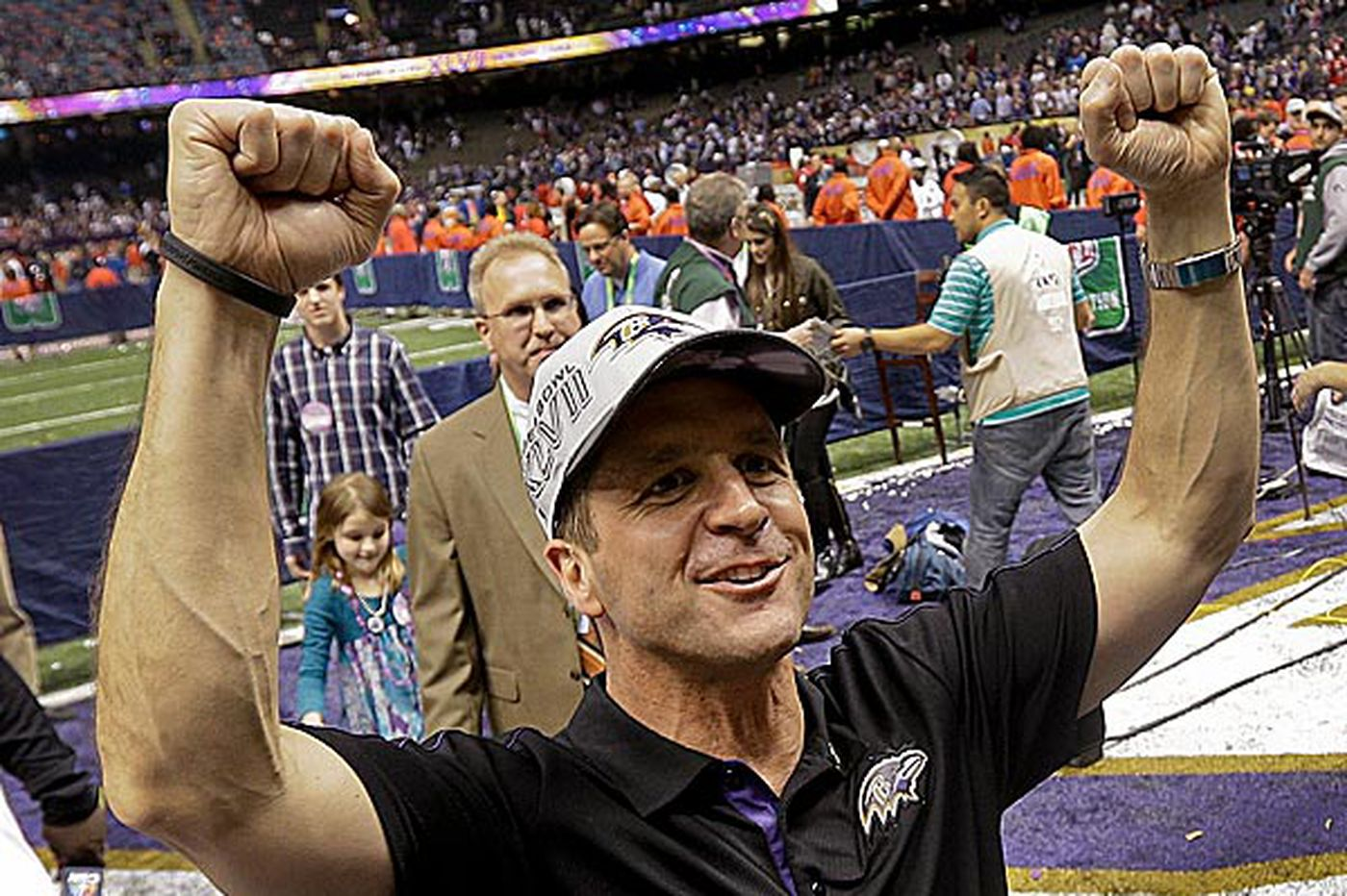 Ravens head coach John Harbaugh waited for right opportunity - and it paid off
