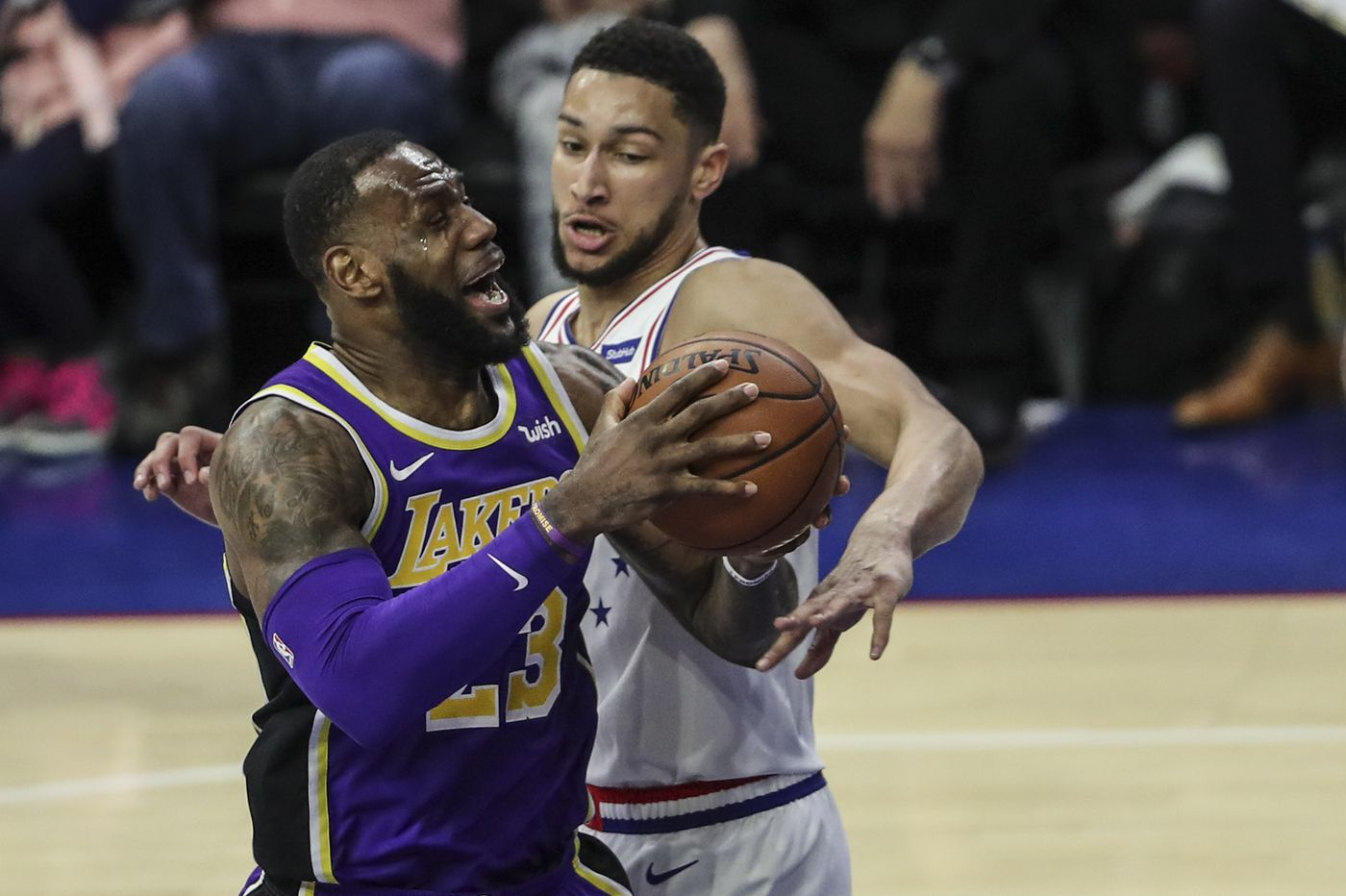 What we saw from LeBron James' first visit to Philly as a Laker