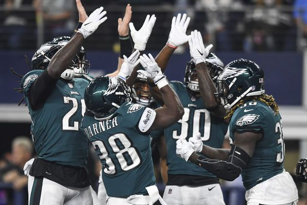 A compilation of the Eagles' crazy touchdown celebrations