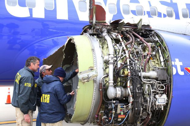 Crack that caused a fatal Southwest engine failure was missed six years ago