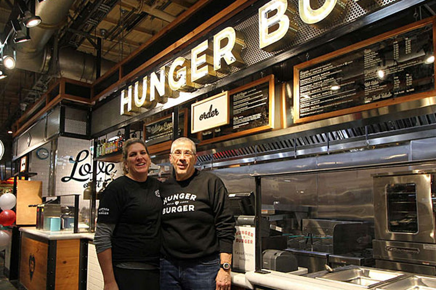Table Talk: Head for Hunger Burger at Reading Terminal Market