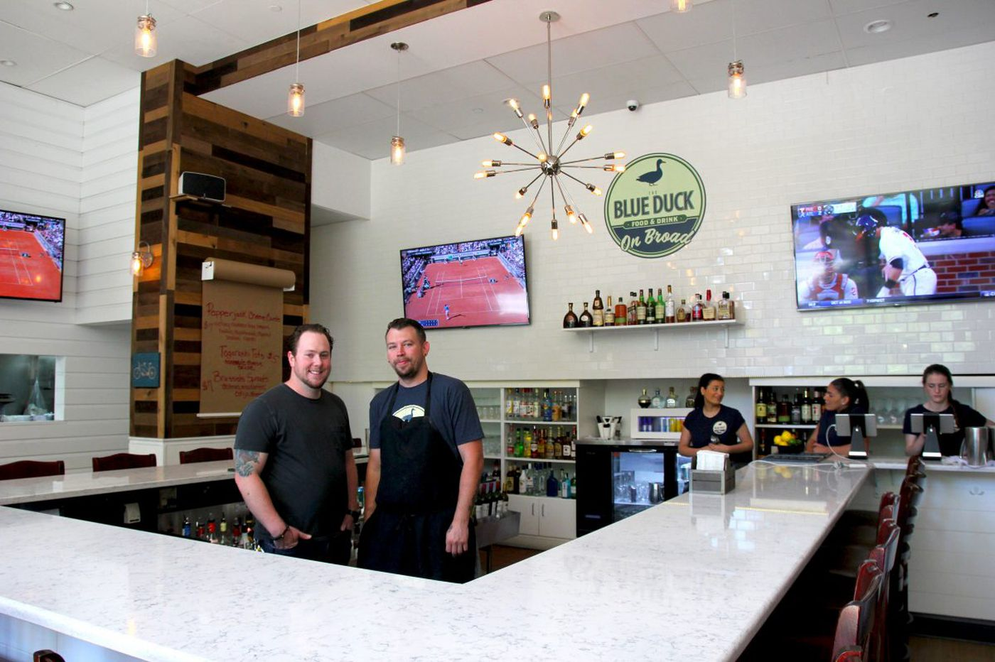 Blue Duck on Broad opens after a quack redecoration