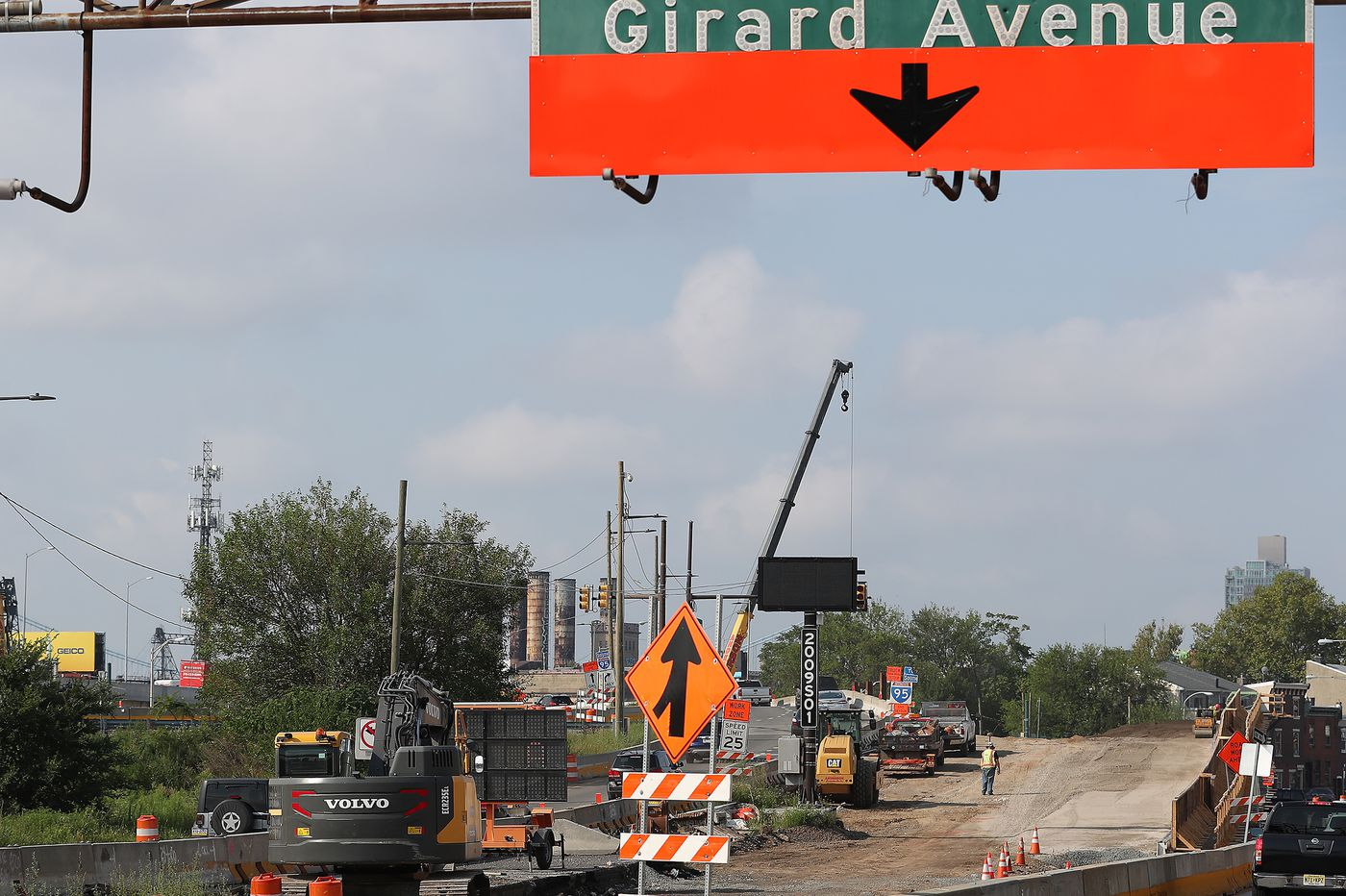 I-95 reconstruction has shut down a Girard Ave. off-ramp for two years. Fishtown is adapting, again.