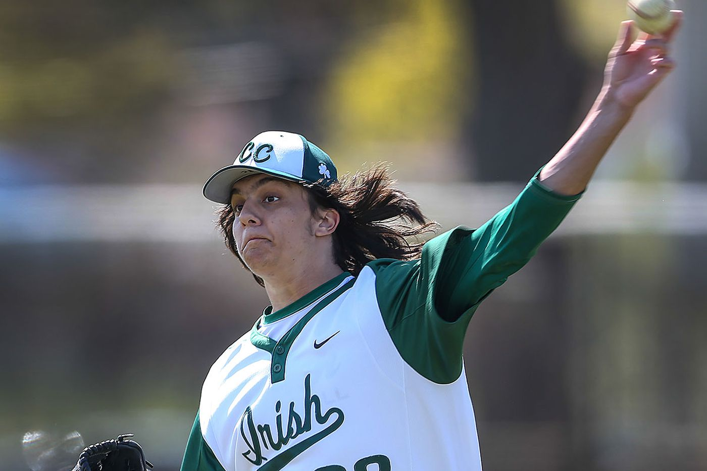 Camden Catholic pitcher Crusemire is in command
