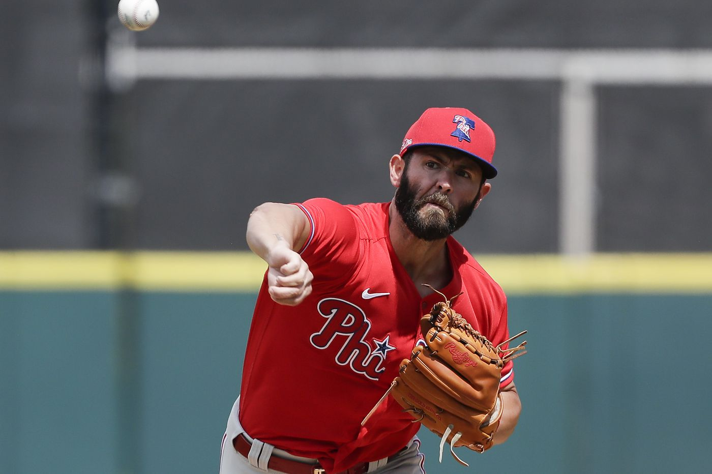 Phillies 9, Tigers 0: Jake Arrieta offers advice as rotation race begins