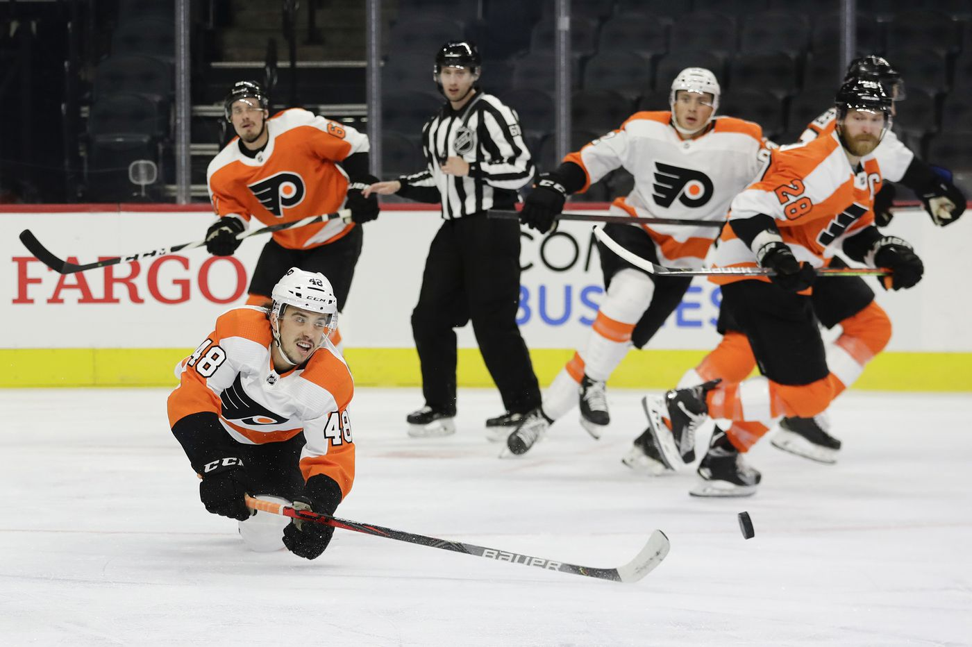 Morgan Frost earns spot on Flyers' final roster; Samuel Morin, six others clear waivers
