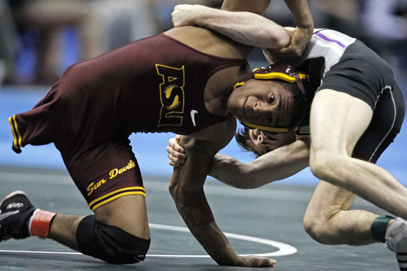 A courageous wrestler comes back to Philadelphia, this time for an award