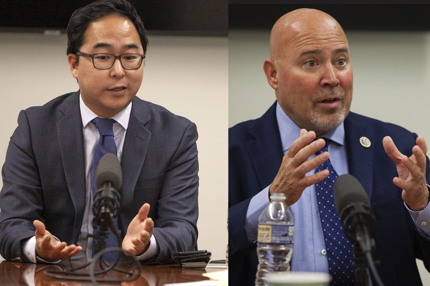 U.S. Rep. Tom MacArthur and Democrat Andy Kim too close to call in N.J.'s Third Congressional District