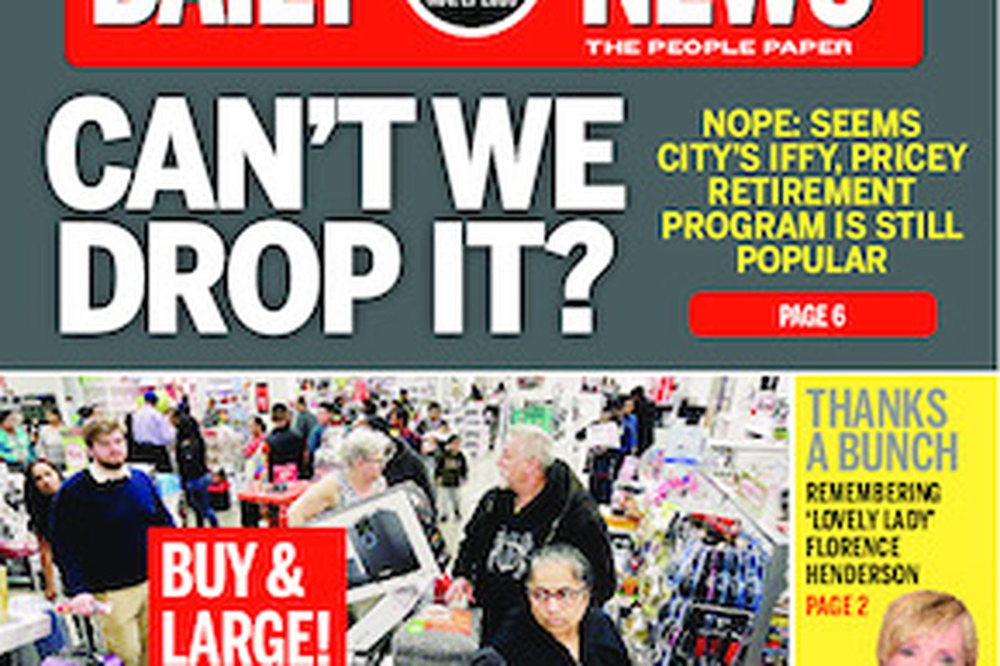 Dailynews Monthly Covers 11/26/16