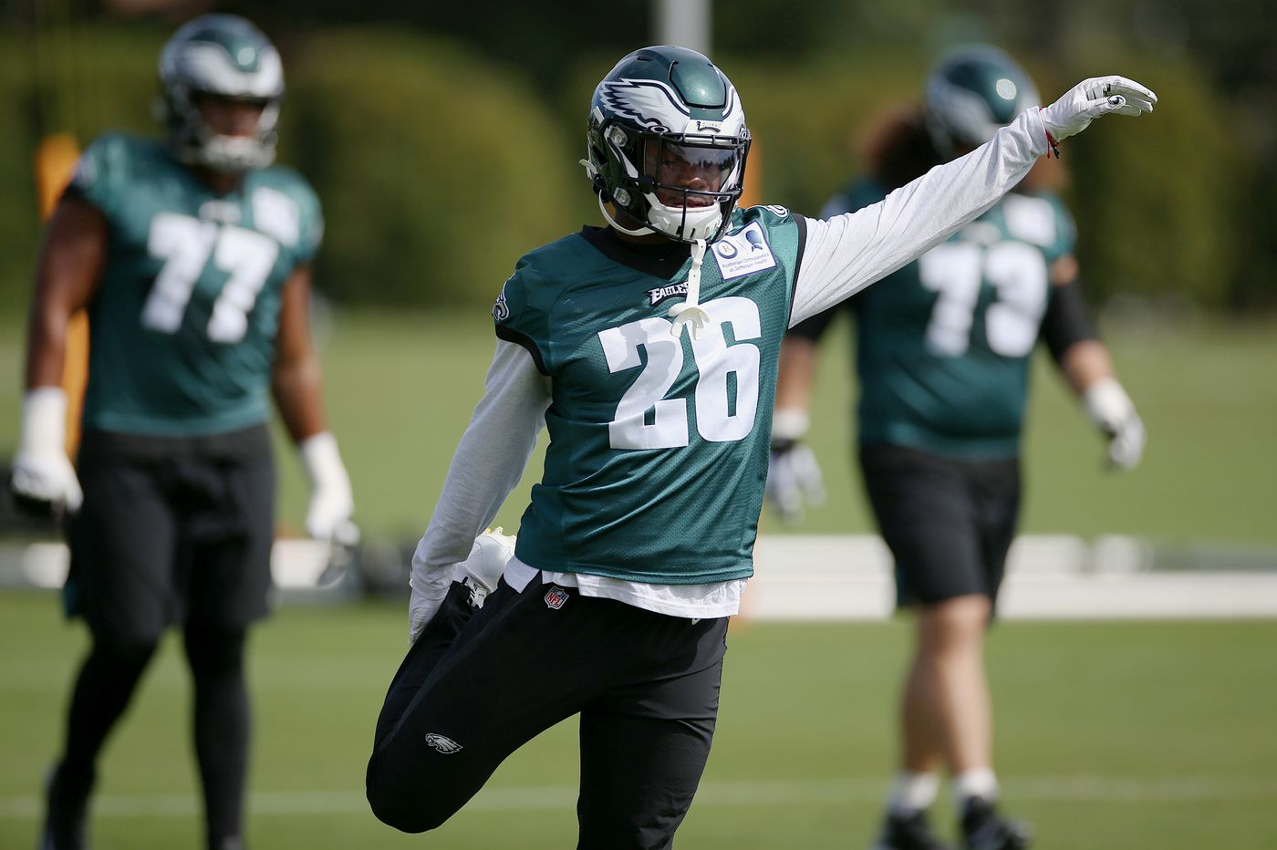 Eagles' Miles Sanders will return kickoffs against Lions with Corey Clement sidelined