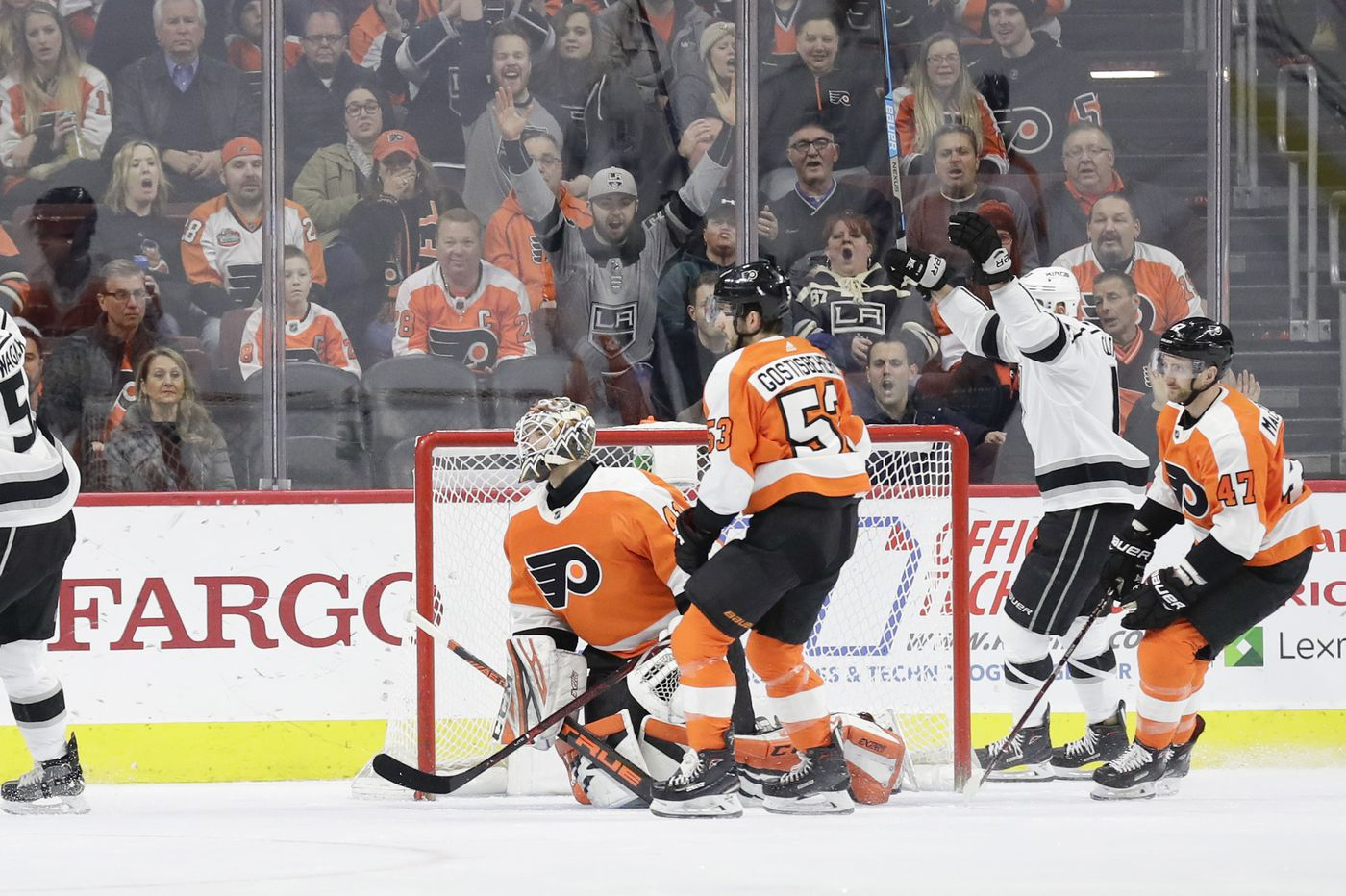 For the Flyers, getting the game's first goal is critical   Inside the numbers