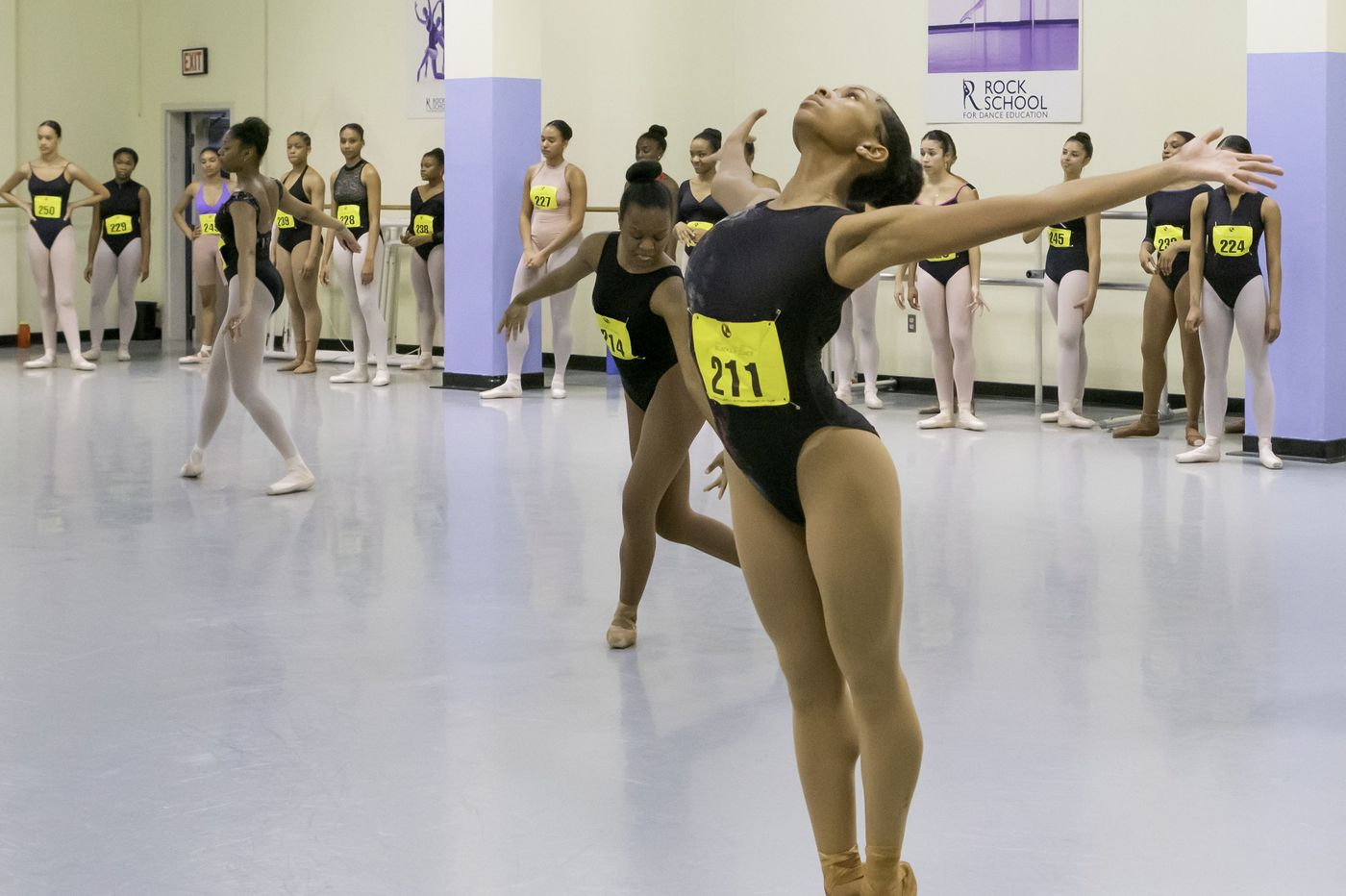Young dancers of color audition for top ballet companies, schools in a special Philly opportunity