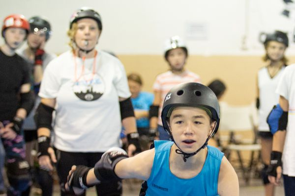 The Philly Roller Derby Juniors have become a formidable powerhouse in the hard-hitting sport