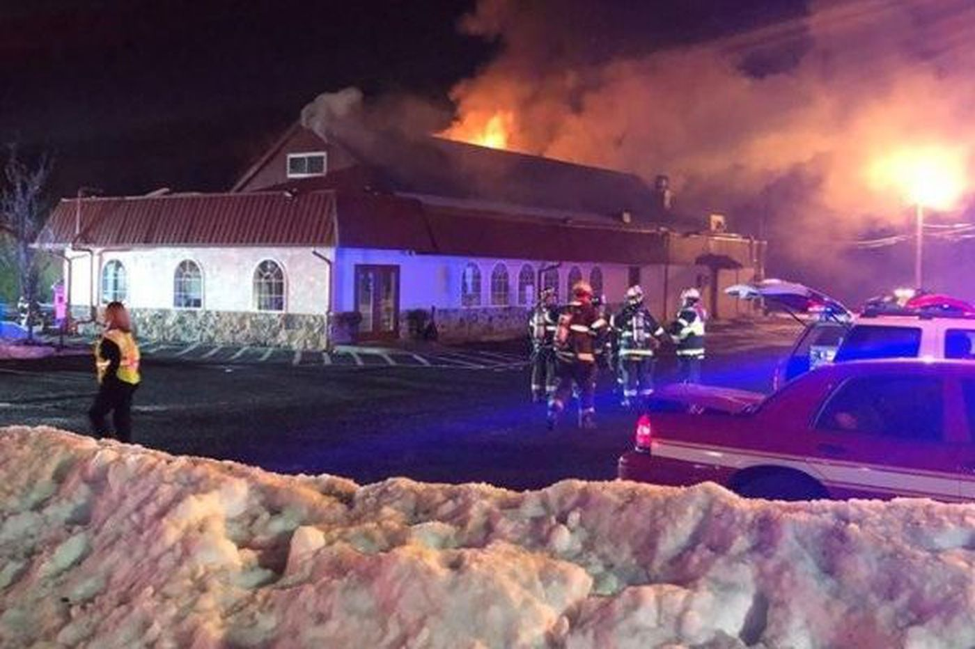 Fire damages South Jersey diner