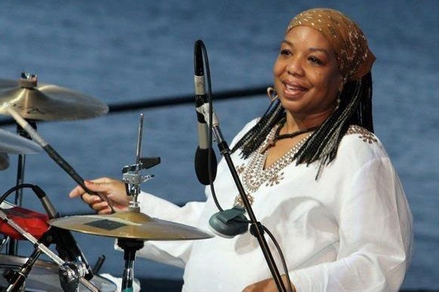 Lysa Dawn Robinson, 55, was a percussionist who performed with Billy Paul and others