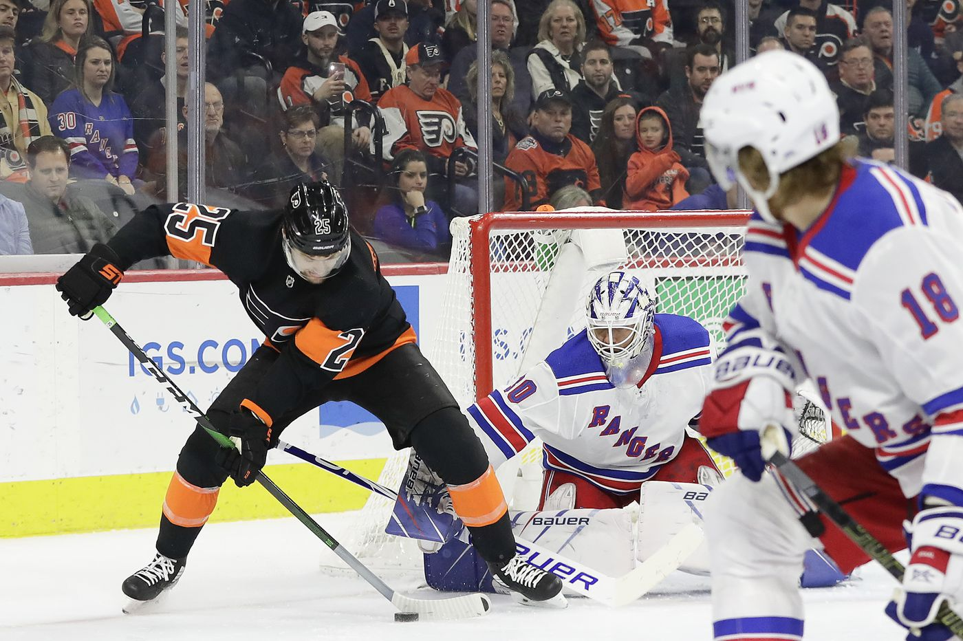 Flyers, trending in wrong direction, trying to bounce back against powerful Boston Bruins