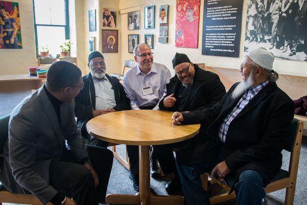 At this year's Human Rights Shabbat, a recommitment to faith prompted by shootings