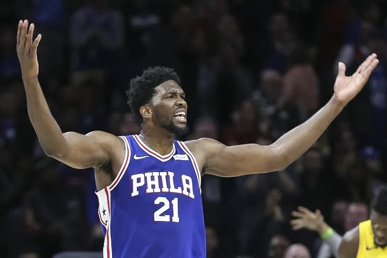 The star power of Joel Embiid has helped make the Sixers a TV priority for the league's network telecasts.