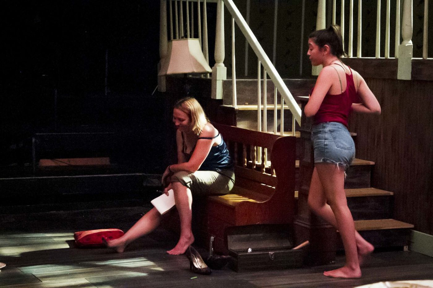 Characters in Curio Theatre's 'The Birds' squawk at hopelessness