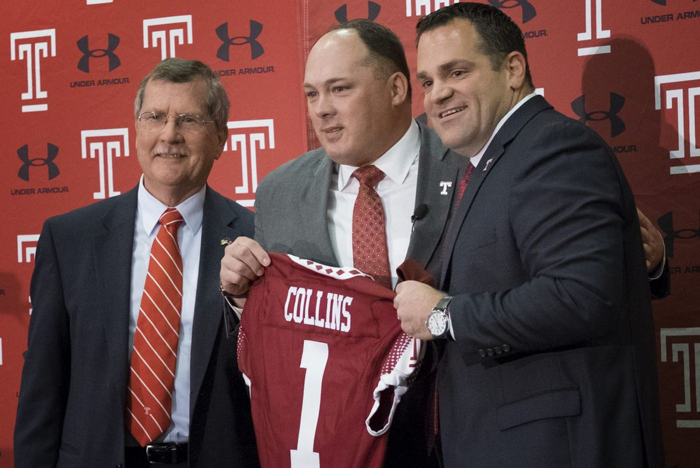 Temple president outlines effort for a campus football stadium