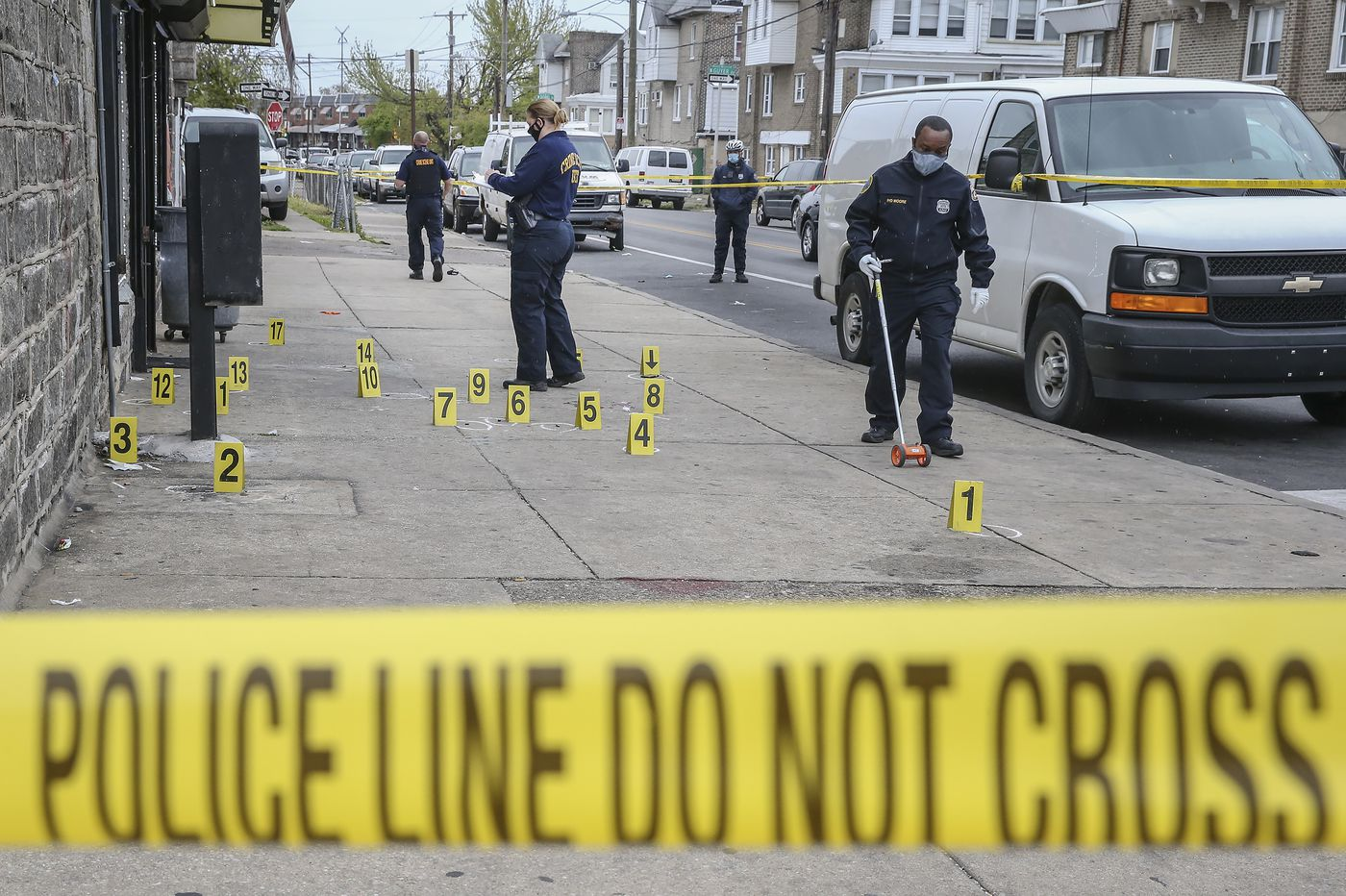 Two killings in Philadelphia on Thursday raise city's total to 120 for the year — 18% more than a year ago