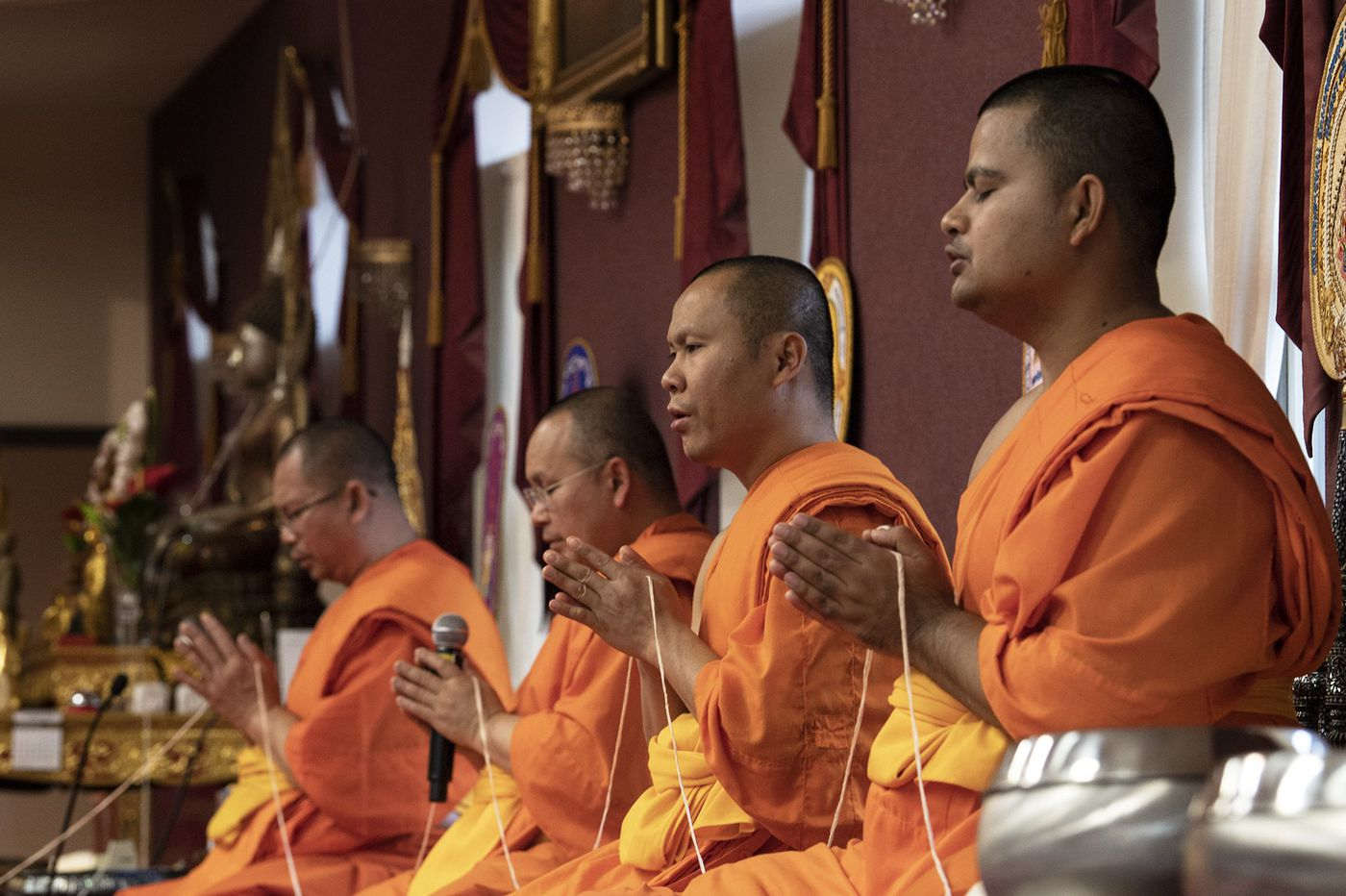'They welcome people.' Inside a Buddhist temple in Bucks County.