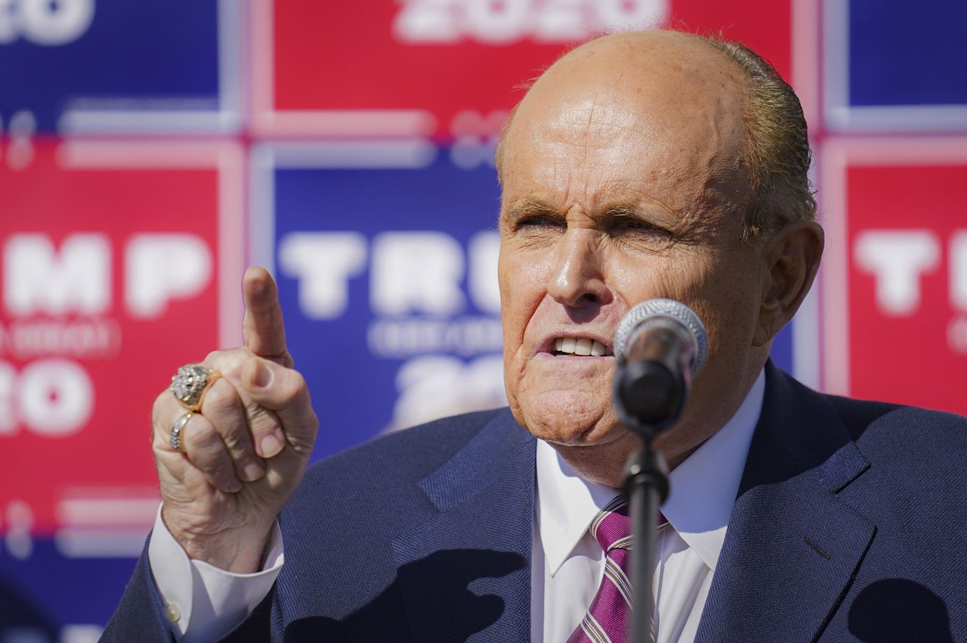 Rudy Giuliani's courtroom showing in Pa. election fight left many scratching their heads. Trump backers praised it as 'brilliant.'